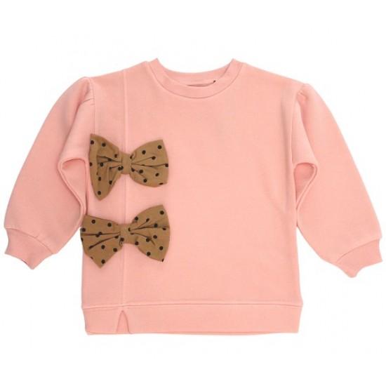 Bluza fete vatuita divo roz fundita