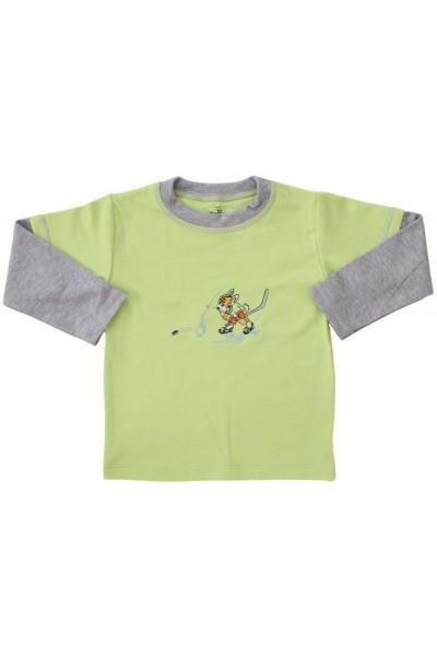 bluza bumbac copii vernil sportiv