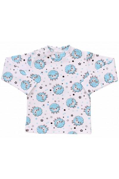 bluza bebe bumbac oita bleu