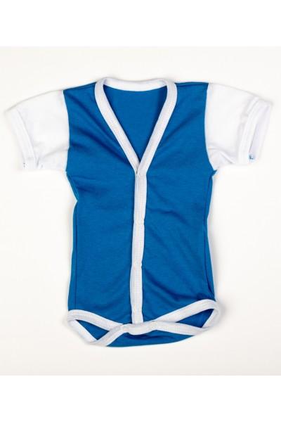 Body maneca scurta Adonis Kids albastru