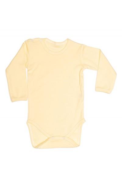 body maneca lunga rom baby galben