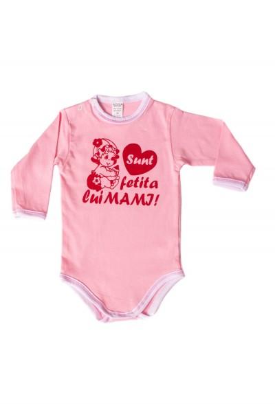body maneca lunga azuga roz mesaj rosu sunt fetita lui mami