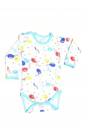 body maneca lunga rom baby imprimeu baloane