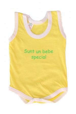 Body maiou galben mesaj sunt un bebe special