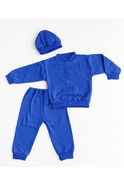 Trening baby confex albastru mansete albastre