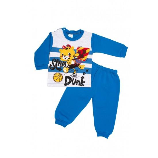 Costum copii bilkom albastru electric