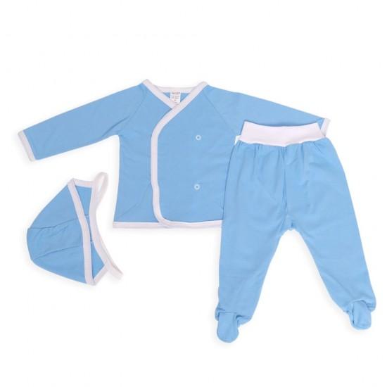 Costumas trei piese azuga iuni bleu