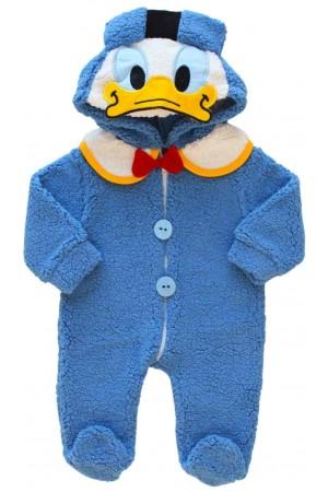 Salopeta cocolino bebe albastra