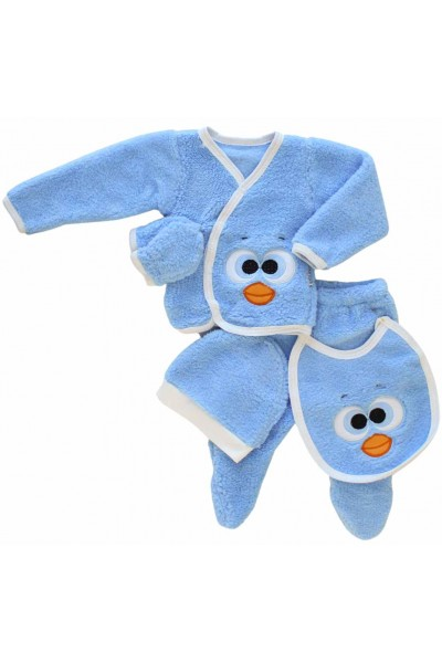 Compleu cocolino bebe bleu