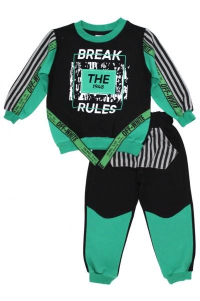 Compleu baieti verde break the rules