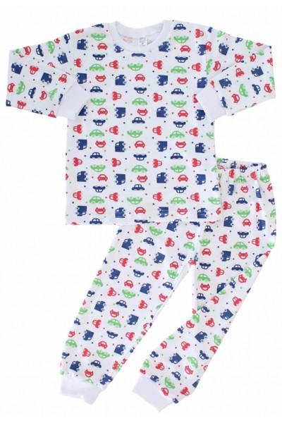 pijamale copii masinute