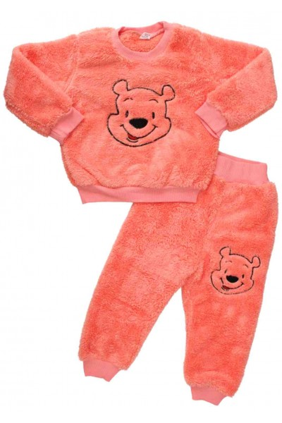 compleu cocolino roz urs