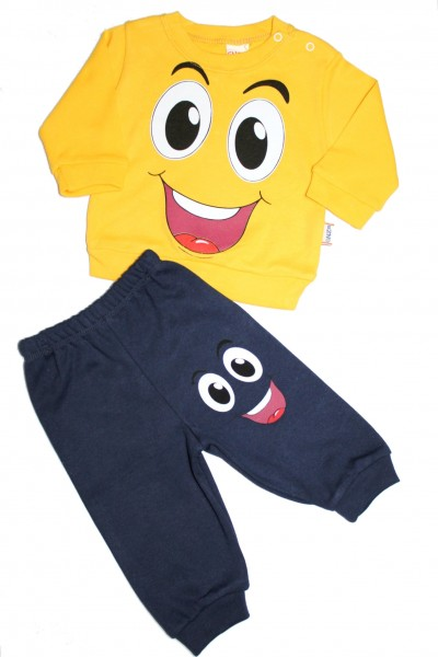 costum copii enzo minitix galben