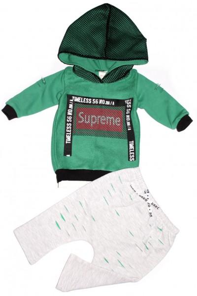 costum copii jikko supreme verde