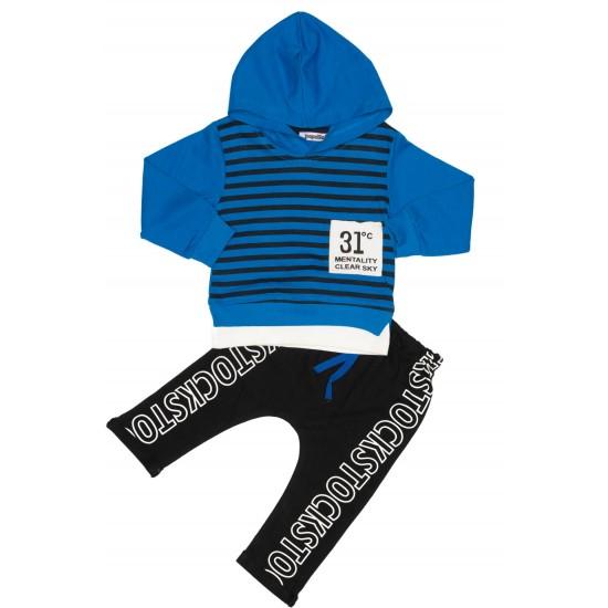 Costum copii popolino kids albastru