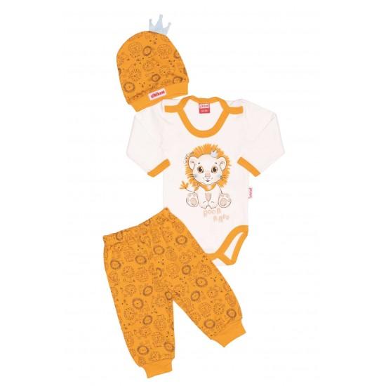 Compleu bebe cikibom leu galben