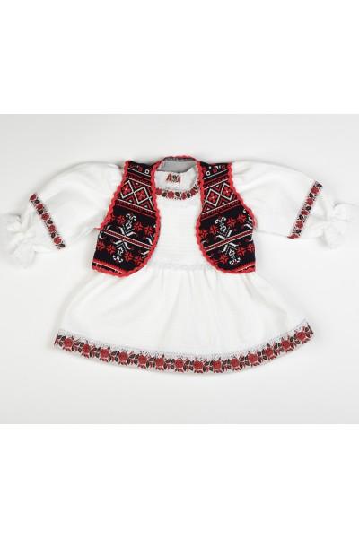 Rochita traditionala cu vesta
