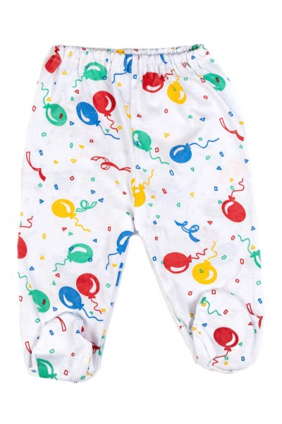 pantaloni botosel azuga baloane colorate
