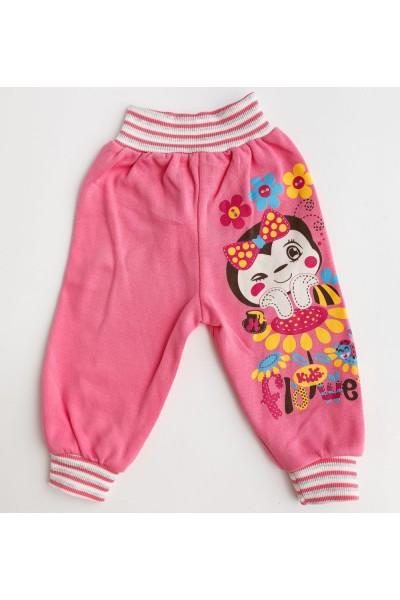 pantaloni fete roz