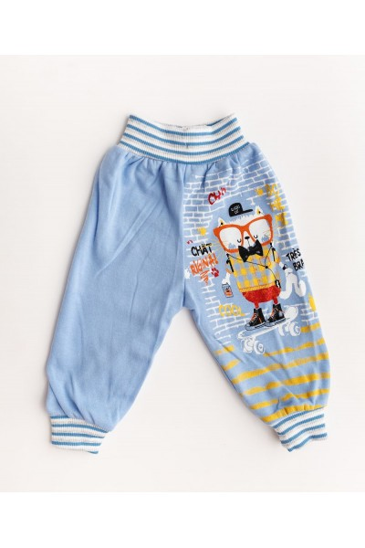 pantaloni baieti bleu
