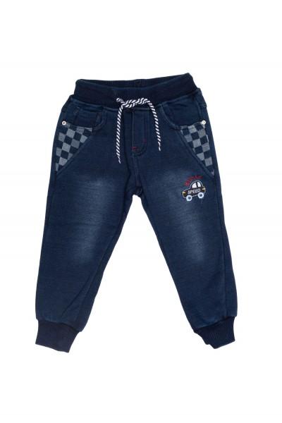 pantaloni copii next star denim imblanit