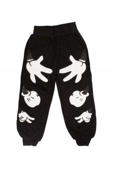 pantaloni copii ayhan vatuiti negri
