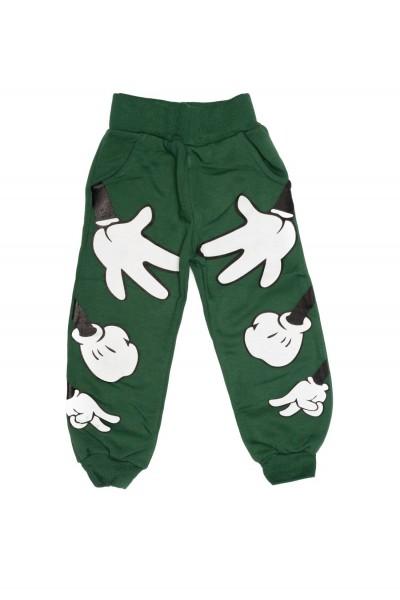 pantaloni copii ayhan vatuiti verzi