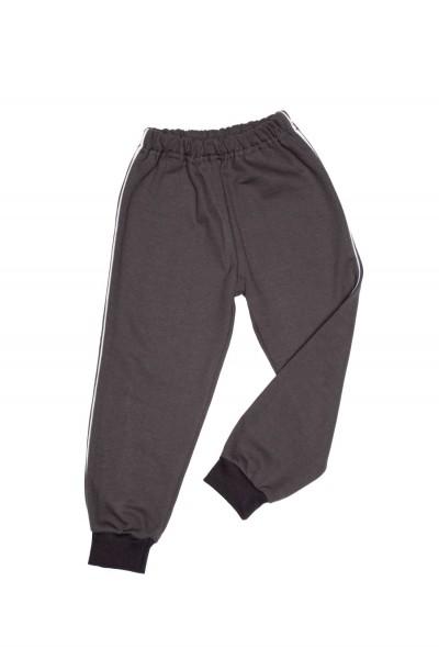 pantaloni trening azuga vipusca gri inchis vatuiti