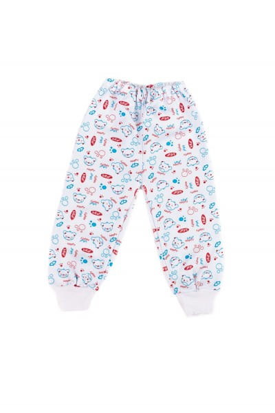 pantaloni casa baby confex ursuleti