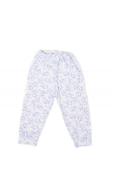pantaloni casa iris elefant mov