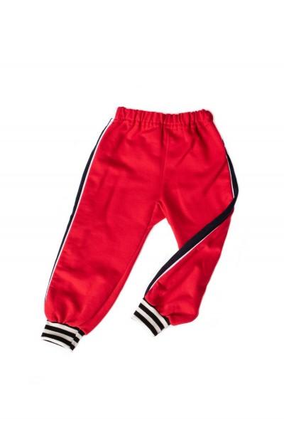 Pantaloni trening azuga rosi insert lateral bleumarin
