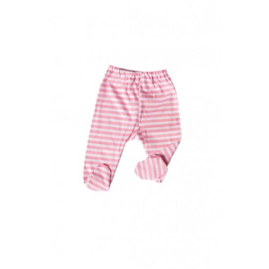 pantalon botosel azuga dungi roz