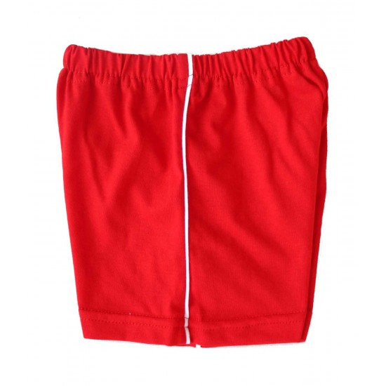 Pantaloni bebe scurti bumbac Azuga rosi