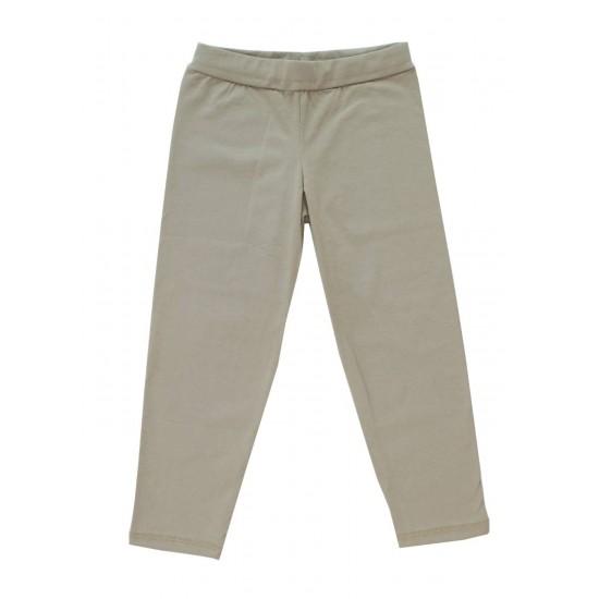 pantaloni fete kaki