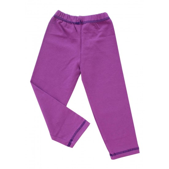 pantaloni fete mov