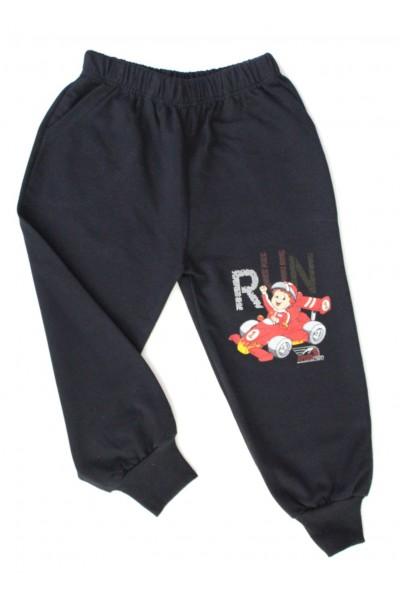 pantaloni baieti run negru