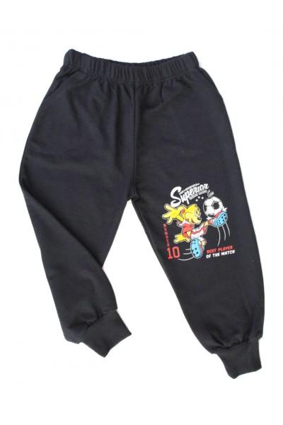 Pantaloni baieti fotbalist negri