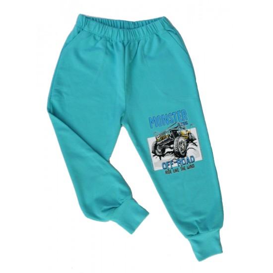 pantaloni baieti monster vernil