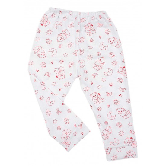 pantaloni ursuleti rosii