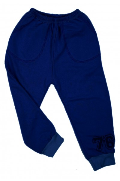 Pantaloni fete trening iris albastru inchis