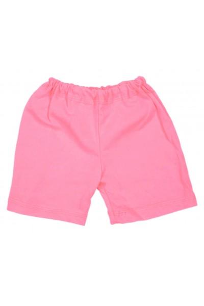 Pantaloni scurti bebe bumbac iris roz deschis