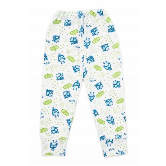 pantaloni casa adonis bumbac subtire tweety verde