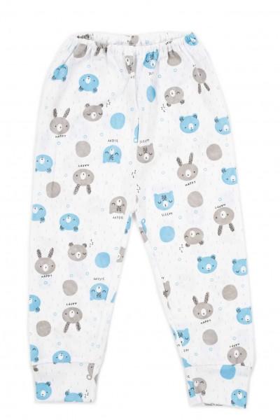 pantaloni casa adonis cap urs albastru-gri