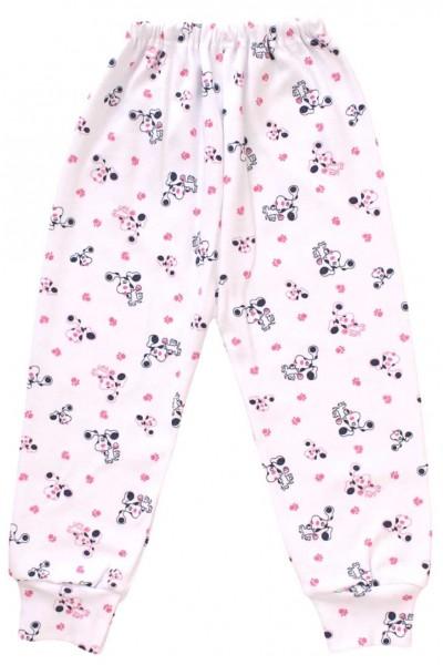 pantaloni casa bumbac catel roz