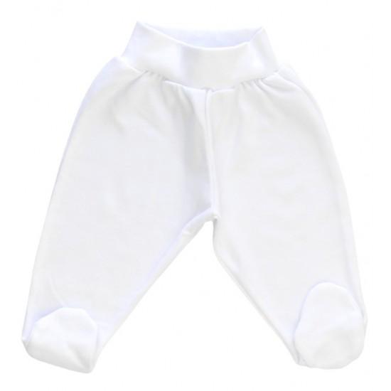 Pantaloni botosei albi