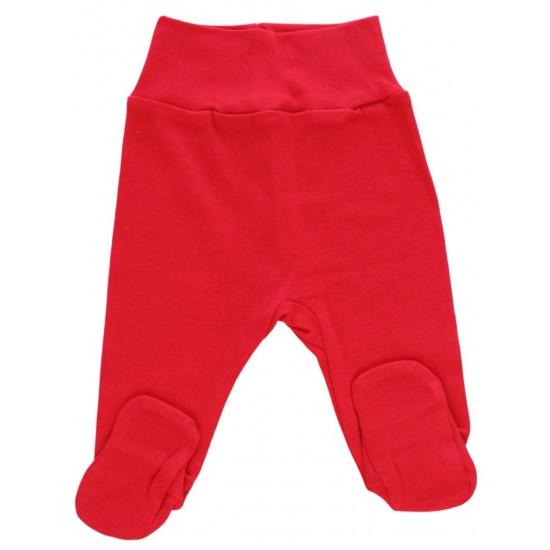 Pantaloni botosei rosii