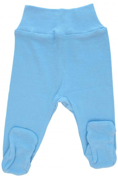 Pantaloni botosei bleu