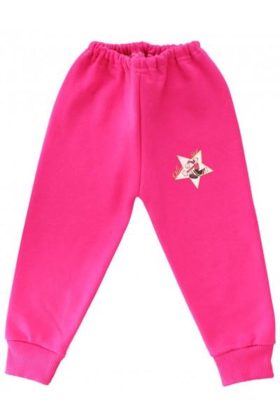 pantaloni trening copii cyclame