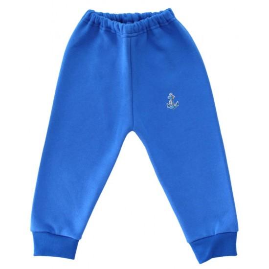 pantaloni trening copii albastrii