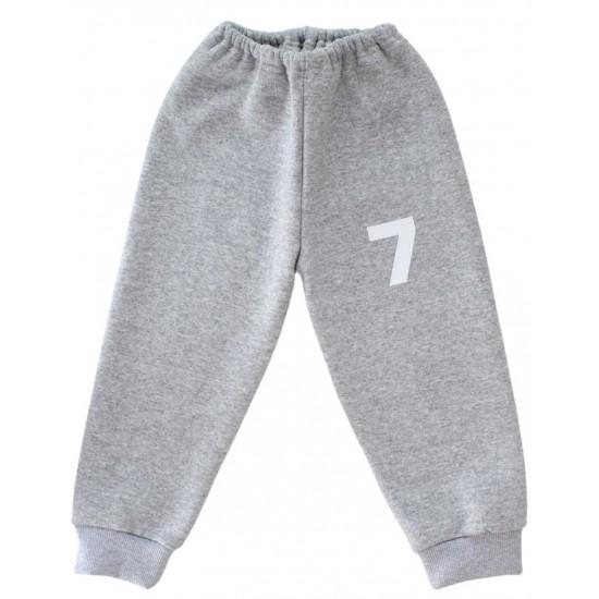 pantaloni trening copii gri